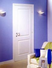 Bloc porte postform pr peint traverse droite huisserie 87 for Porte 83x204