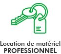Location de matériel professionnel