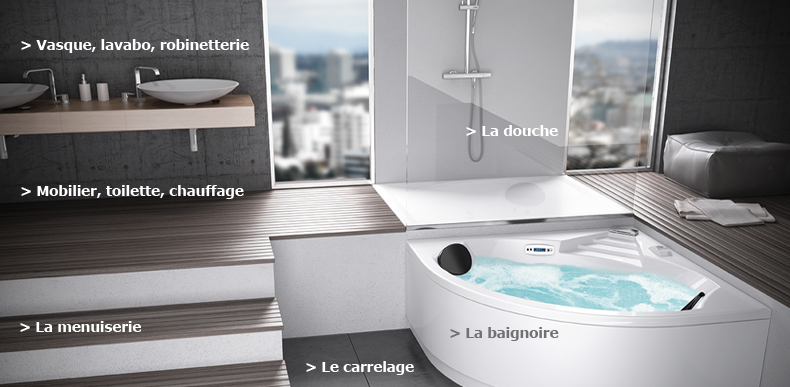 Sanitaire for Ciffreo bona cuisine
