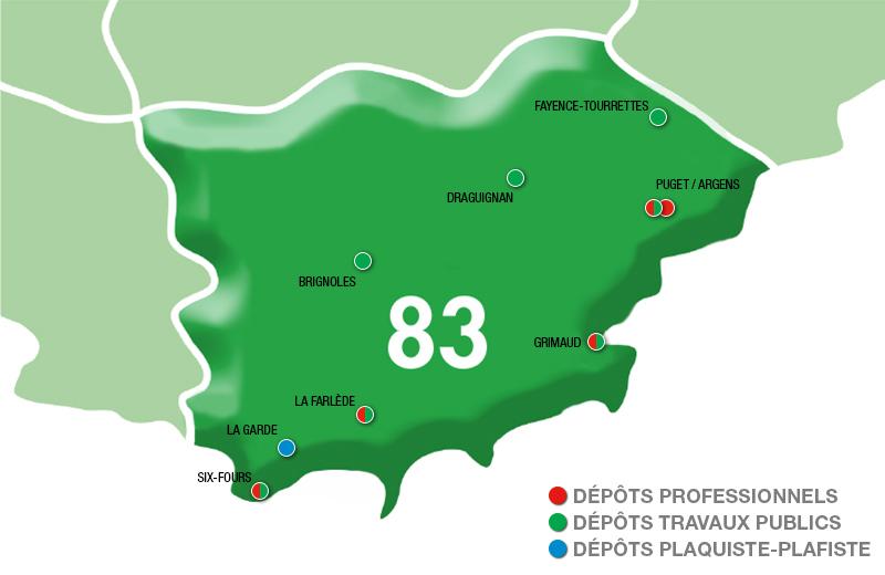 Depots Espace professionnel - 83