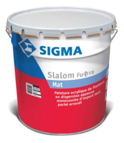 Slalom futura mat glyc ro blanc - Peinture glycero mat ...