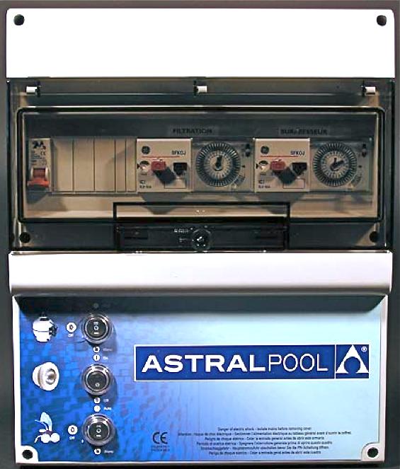 Coffret de filtration 2 projecteurs surpresseur - Coffret filtration piscine ...