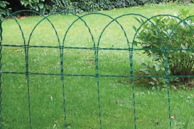 bordure jardin ornaplace plastifi e vert. Black Bedroom Furniture Sets. Home Design Ideas