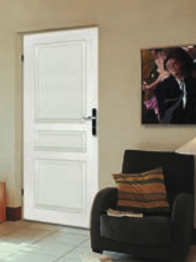 bloc porte postform pr peint isolant traverse droite huisserie 88. Black Bedroom Furniture Sets. Home Design Ideas