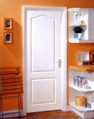 Bloc porte postform chapeau gendarme pr peint huisserie 67 for Porte 1 3 2 3