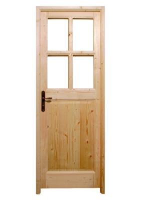 Bloc porte dauphinois petits carreaux for Porte a petit carreaux