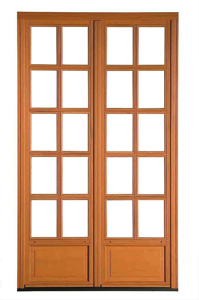 Porte fenêtre bois dormant 46