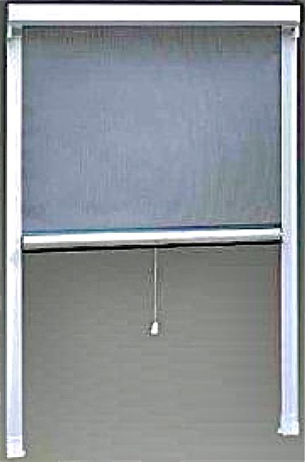 moustiquaire enroulable verticale alu. Black Bedroom Furniture Sets. Home Design Ideas