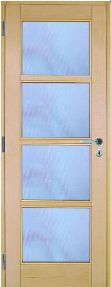 Bloc porte erable vitr 4 carreaux for Porte 4 carreaux
