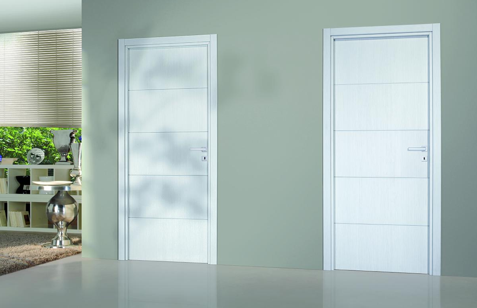 Bloc porte premium seymour ch ne blanc for Couleur portes interieures