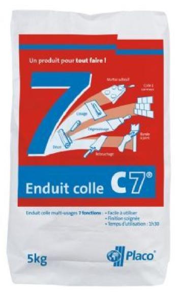 Enduit colle c7 for Enduit colle exterieur