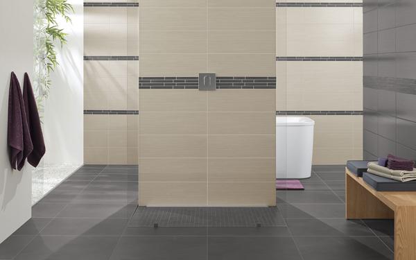 emejing salle de bain gris et beige ideas - awesome interior home ... - Salle De Bain Beige Et Gris