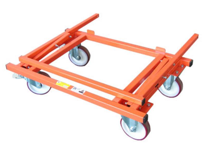 Chariot porte plaques 4 roues - Chariot porte roue tracteur ...