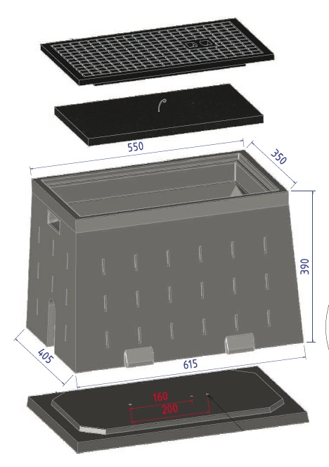 regard abri compteur d 39 eau ccvplast. Black Bedroom Furniture Sets. Home Design Ideas