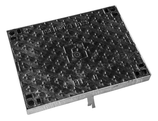 trappe fonte t l com avec cadre b125 pil. Black Bedroom Furniture Sets. Home Design Ideas