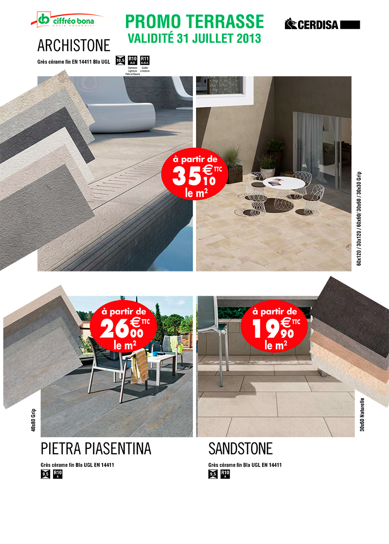 Carrelage promo for Achat de carrelage