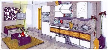 Exemples de cuisines
