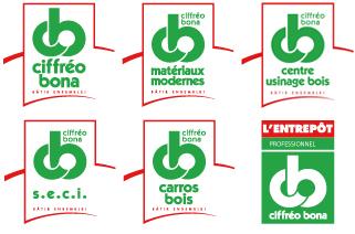 Logos Ciffréo Bona