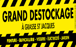 Grand Destockage Grasse ST Jacques
