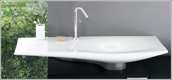 Croissant Espace sanitaire : vasque RJ-54