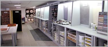 Un showroom